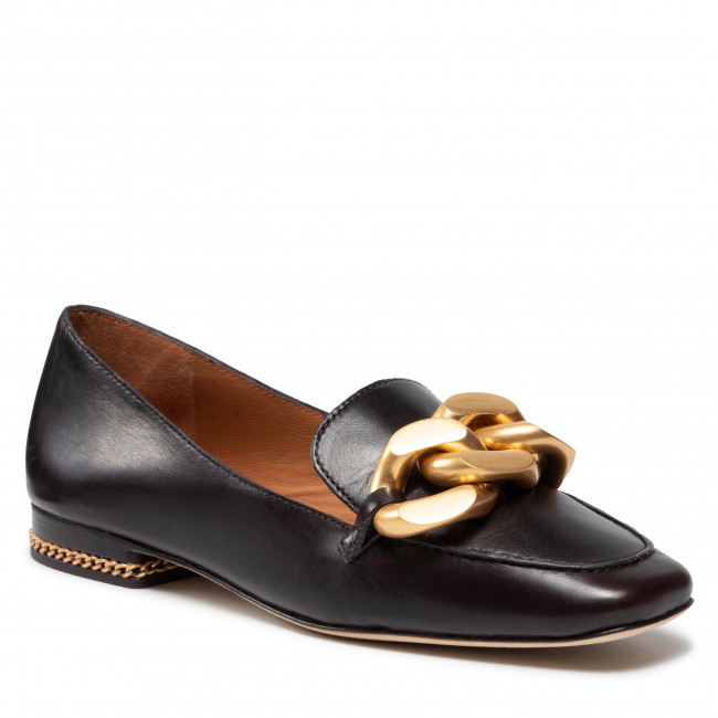 Lordsy TORY BURCH - Ruby Chain Loafer 86600 Chocolate Brown 200