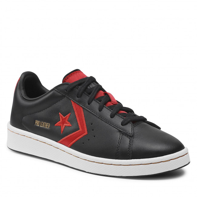 Sneakersy CONVERSE - Pro Leather Ox 168871C Black/University Red/White
