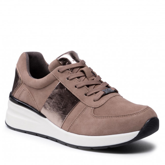 Sneakersy CAPRICE - 9-23707-27 Taupe Comb 345