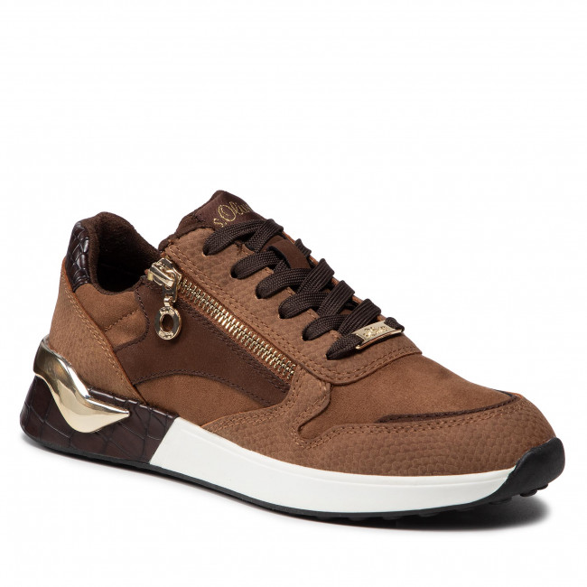 Sneakersy S.OLIVER - 5-23607-37 Brown 300