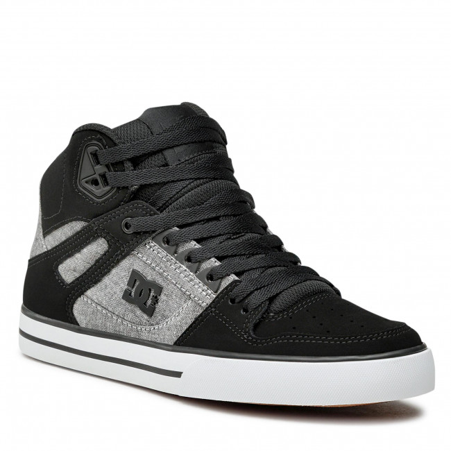 Sneakersy DC - Pure High-Top Wc ADYS400043 Black/Red/White(XKRW)