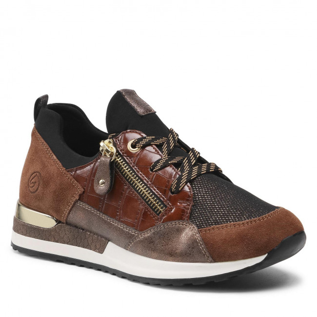 Sneakersy REMONTE - R2529-25 Brown Combination