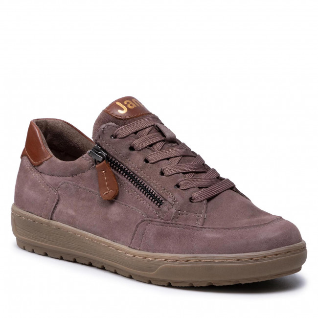 Sneakersy JANA - 8-23606-27 Old Rose Suede 550