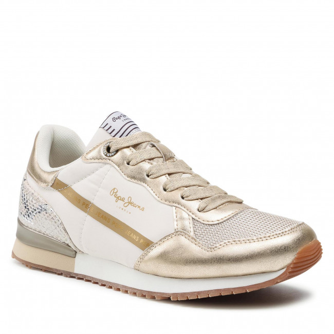 Sneakersy PEPE JEANS - Archie Top PLS31205  Gold 099
