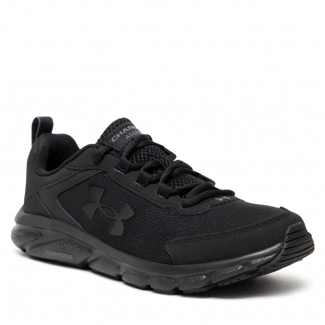Boty UNDER ARMOUR - Ua Charged Assert 9 3024590003-003 Blk/Blk