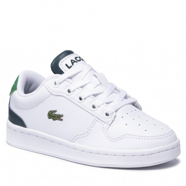 Sneakersy LACOSTE - Masters Cup 0721 1 Suc 7-41SUC00111R5 Wht/Dk Grn