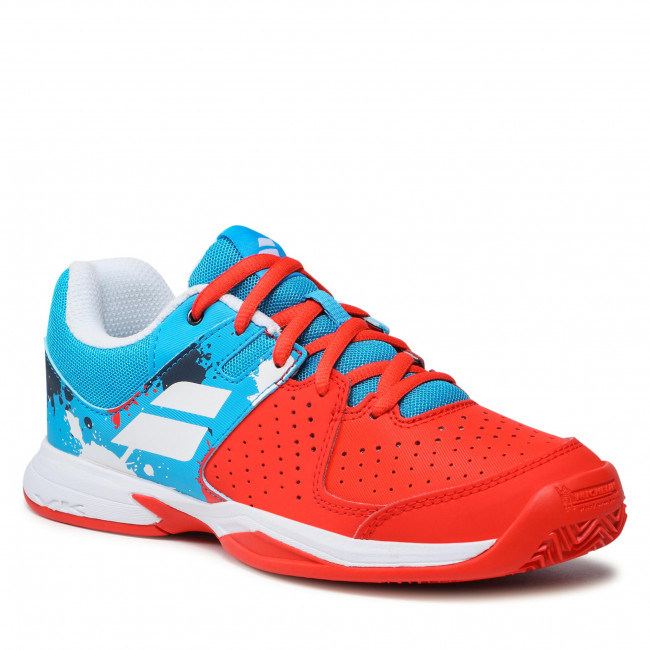 Boty BABOLAT - Pulsion Clay Jr 33S20731 Tomato Red/Blue Aster
