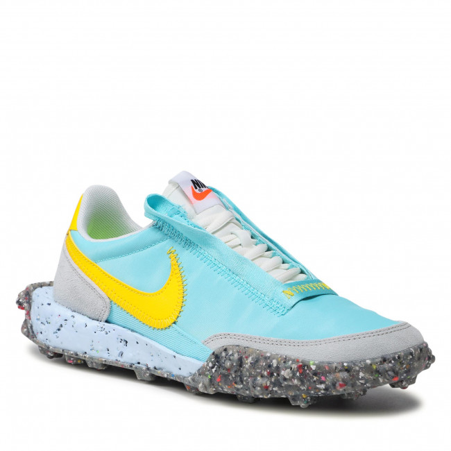 Boty NIKE - Waffle Racer Crater CT1983 400 Bleached Aqua/Speed Yellow