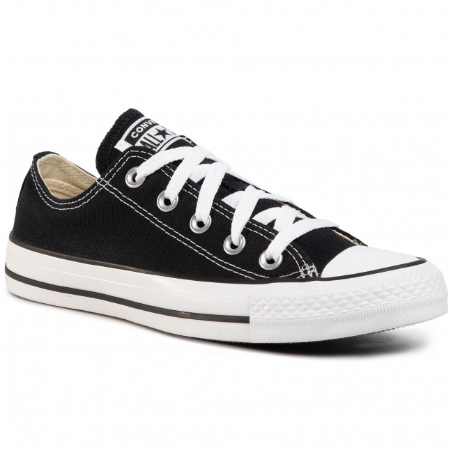 Plátěnky CONVERSE - All Star Ox M9166C Black