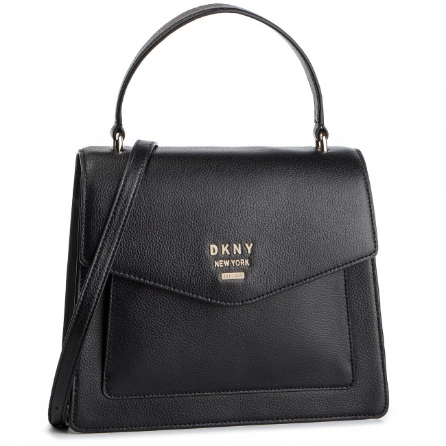 Kabelka DKNY - Whitney/Ns Th Satche R91DHA96 Blk/Gold  BGD