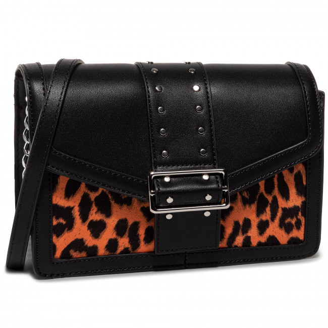 Kabelka MONNARI - BAG1280-M03 Black With Orange