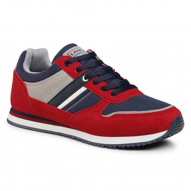 Sneakersy LANETTI - MP07-01409-02 Red