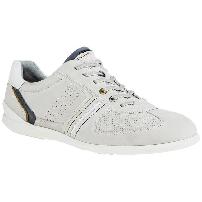 Polobotky ECCO - Chander Lace 53500457759 Shadow White
