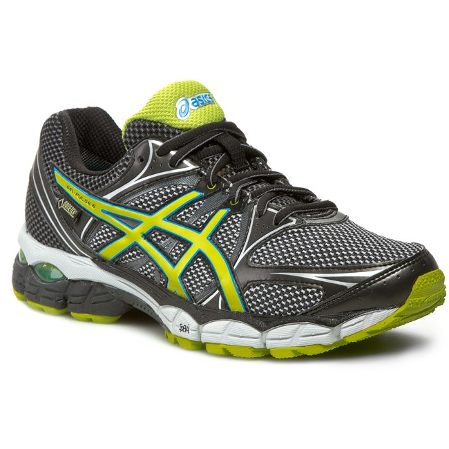 Boty ASICS - Gel-Pulse 6 G-Tx T4A4N Silver/Lime/Black