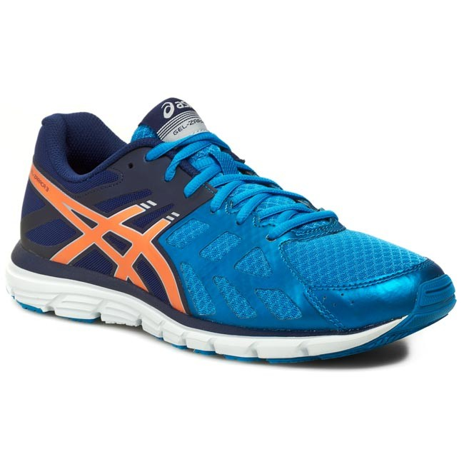 Boty ASICS - Gel-Zaraca 3 T4D3N Aqua Blue/Orange/Navy 3932