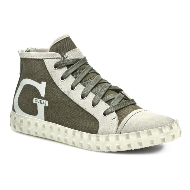 Sneakersy GUESS - Billy FM2BLY FAB12 GREEN