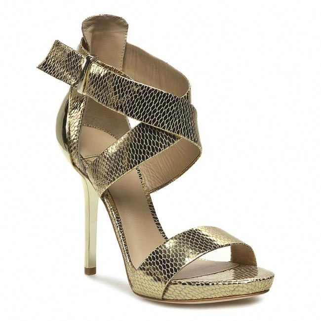 Sandály GUESS - BY MARCIANO Ciana FL2CCN LEM03 GOLD