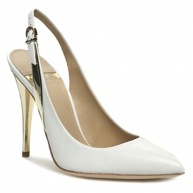 Sandály GUESS - BY MARCIANO - Alan2 FL2AA2 LEA05 WHITE