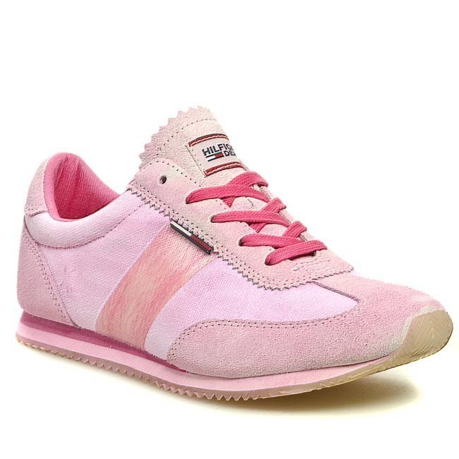 Sneakersy TOMMY HILFIGER - Lacey 1B EN56817157 Shocking Pink 679