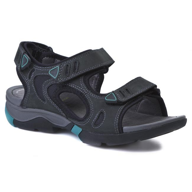 Sandály CLARKS - Wave Outing 203583454 Black