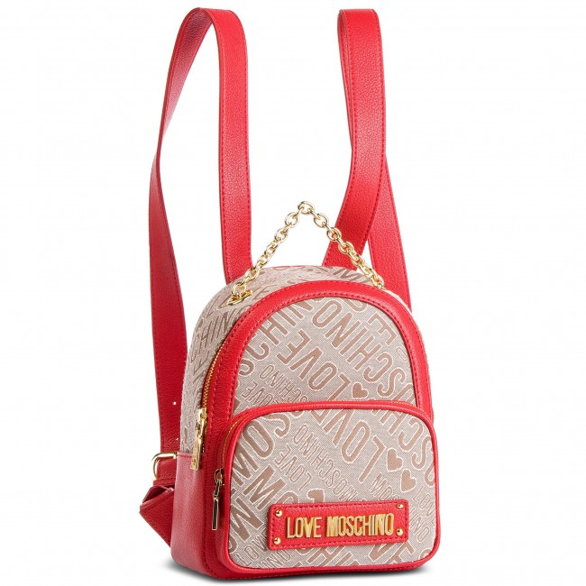 Batoh LOVE MOSCHINO - JC4022PP17LC110A Rosso