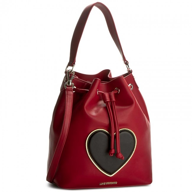 Kabelka LOVE MOSCHINO - JC4251PP02KG0514 Rosso Scuro