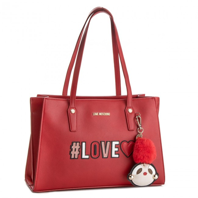 Kabelka LOVE MOSCHINO - JC4070PP16LK0500 Rosso