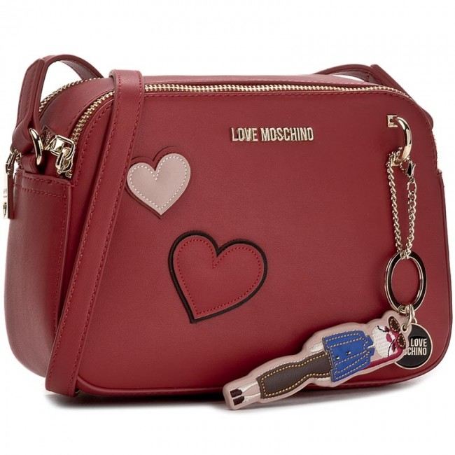Kabelka LOVE MOSCHINO - JC4091PP14LM0500 Rosso
