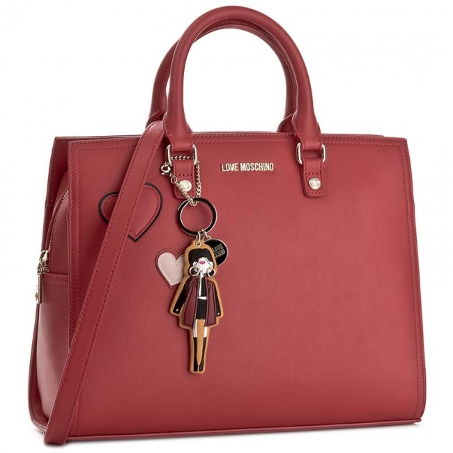 Kabelka LOVE MOSCHINO - JC4087PP14LM0500 Rosso