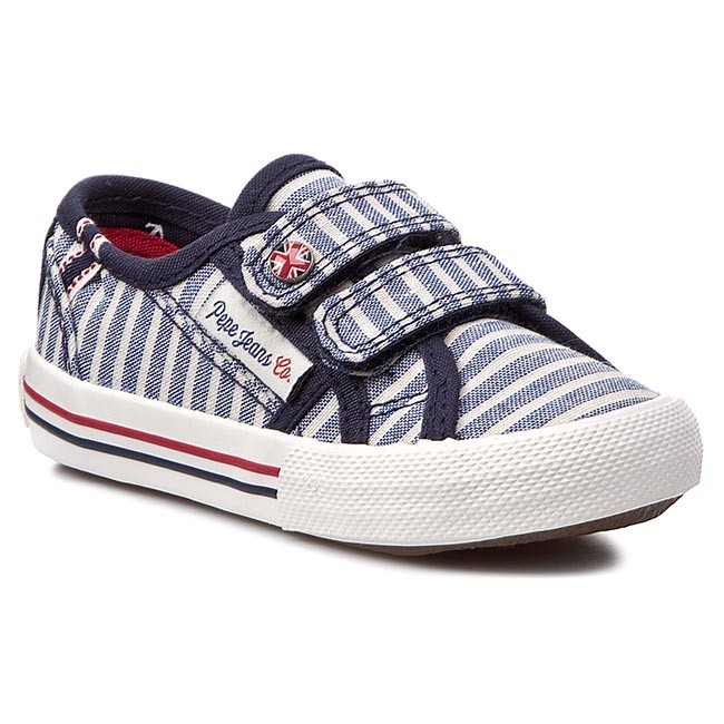Polobotky PEPE JEANS - Baker Lines PBS30074 Naval Blue 575