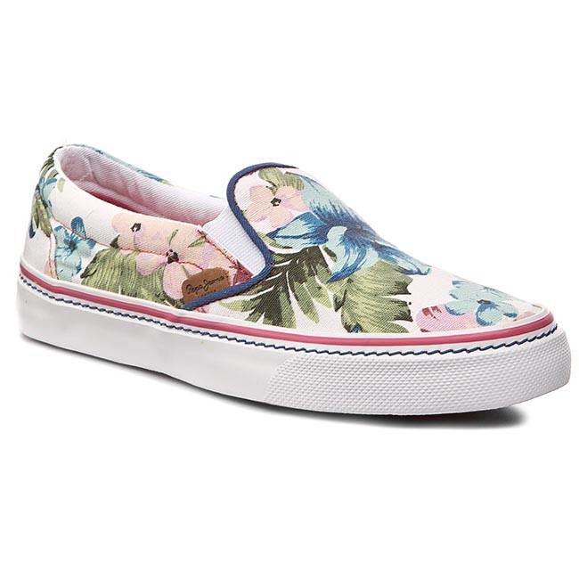 Tenisky PEPE JEANS - Alford Hawai PLS30145  White 800