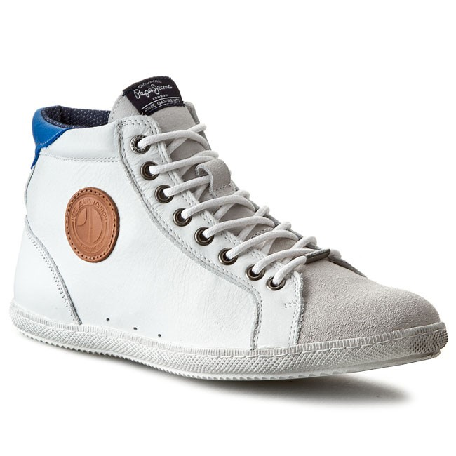 Sneakersy PEPE JEANS - William Boot PMS50042 White 800