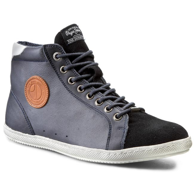 Sneakersy PEPE JEANS - William Boot PMS50042  Marine 585