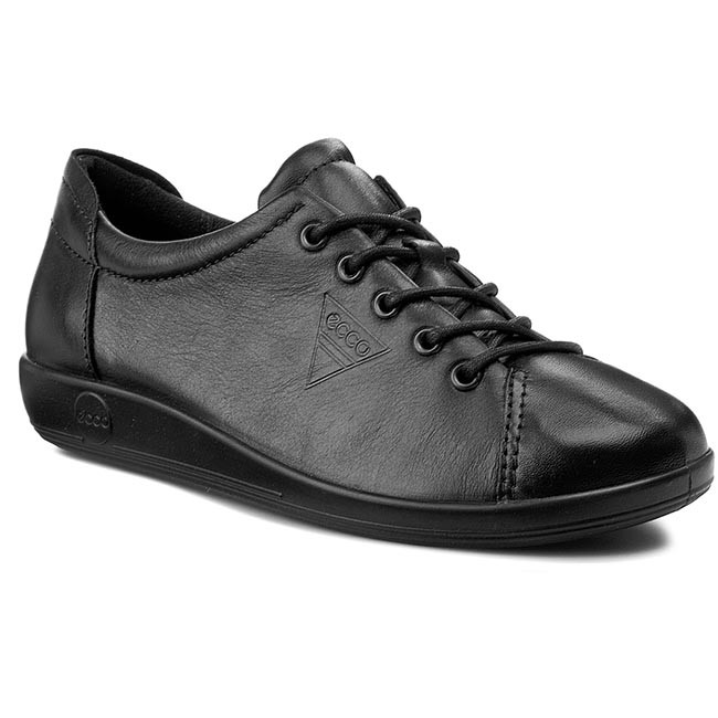 Polobotky ECCO - Soft 2.0 20650356723  Black With Black Sole