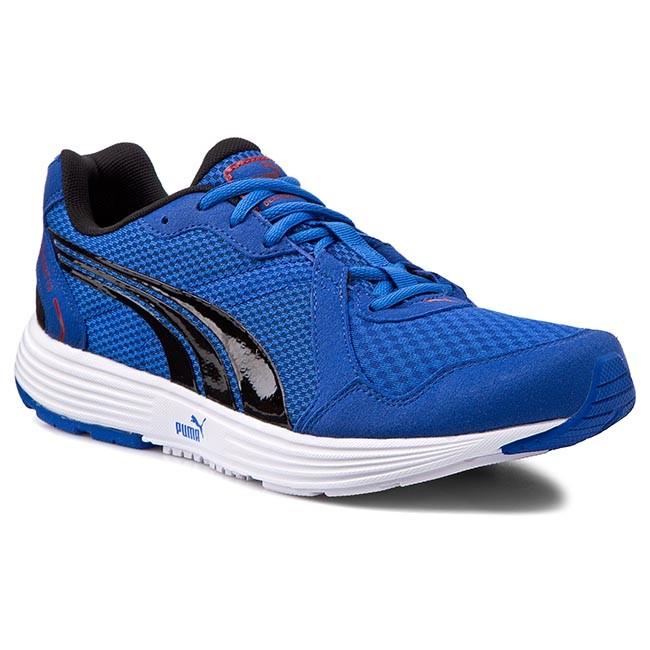 Boty PUMA - Descendant v2 187310 10 Stromg Blue/Black/Red