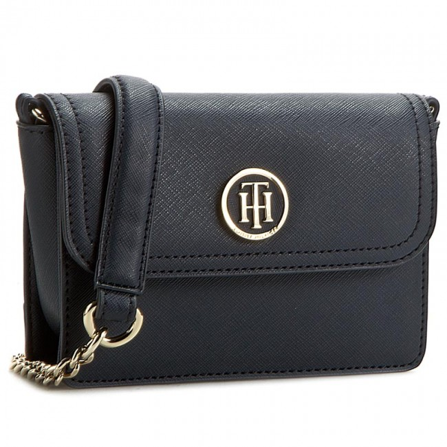 c921193f6 Kabelka TOMMY HILFIGER - American Icon Mini Crossover Saffiano AW0AW03294  001