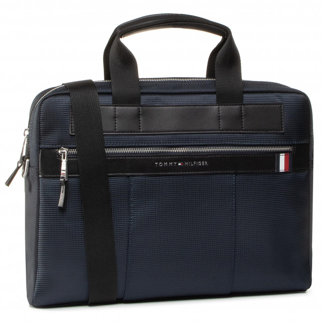 Brašna na notebook TOMMY HILFIGER - Elevated Nylon Computer Bag AM0AM05814 CJM