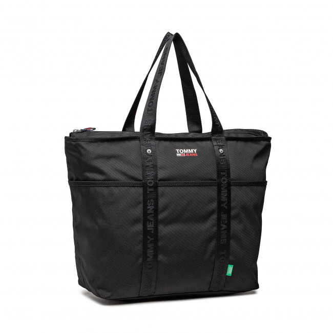 Kabelka TOMMY JEANS - Tjw Campus Tote AW0AW10157 BDS