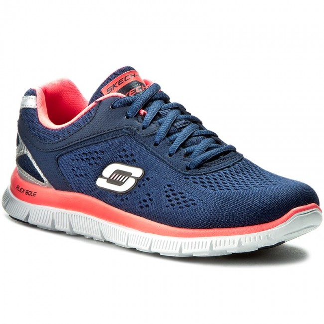Boty SKECHERS - Love Your Style 11728/NVHP Navy/Hot Pink