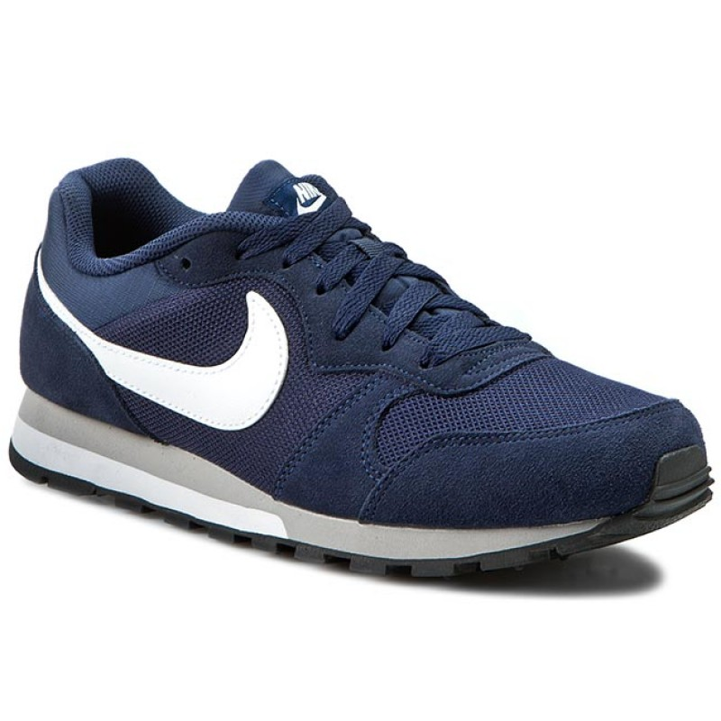 50094e1329c Boty NIKE - Md Runner 2 749794 410 Midnight Navy White Wolf Grey