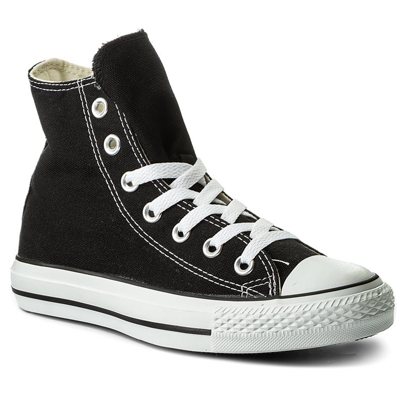 Plátěnky CONVERSE - All Star Hi M9160 Black a2b38f25ca