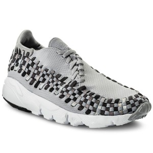 cheap for discount 70634 56d1a Boty NIKE - Air Footscape Woven Nm 875797 004 Wolf Grey Black Dark Grey