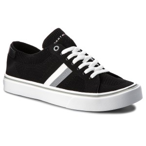 b1960e849bd Tenisky TOMMY HILFIGER - Lightweight Corporate Sneaker FM0FM01619 Black 990
