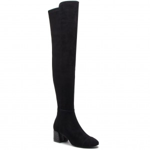 Kozačky TORY BURCH - Nina 50mm Over The Knee Boot 49567 Perfect Black 006 fd4f2c8a13