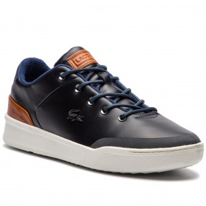 Sneakersy LACOSTE - Explorateur Hi 318 1 Caw 7-36CAW0007TS2 Nat Off ... 092601af781