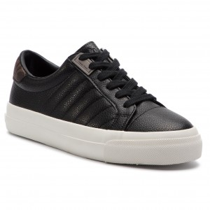 Sneakersy GUESS - Icon High FT6ICH LEA12 BLACK - Sneakersy ... fd332ccb726