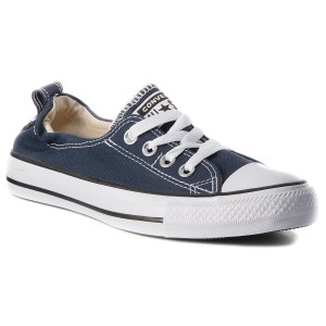 Plátěnky CONVERSE - Ct Shoreline Slip 537080C Athletic Navy 29ff05e3dc