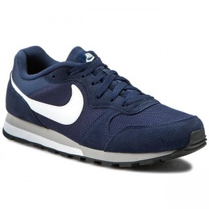 finest selection 45243 2ca06 Boty NIKE Md Runner 2 749794 410 Midnight Navy White Wolf Grey