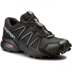 Boty SALOMON - Speedcross 4 W 383097 20 V0 Black Black Black Metallic fdf0b669e6