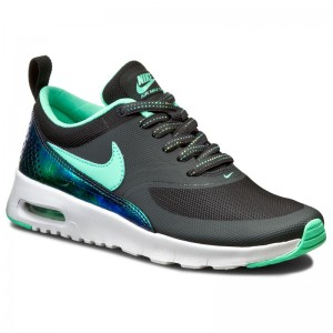 Boty NIKE - Air Max Thea Se (Gs) 820244 002 Anthracite Green Glow d374577ed39